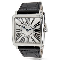 Franck Muller Master Square 6002 M QZ Unisex Watch in Stainles...