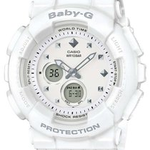 Casio Womens Baby-G - White Case and Strap - World Time -...