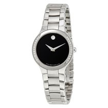 Movado Serio Quartz Ladies Watch 0606385