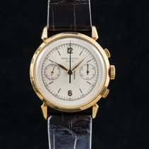 Patek Philippe 1579 chronograph spyder lugs yellow gold