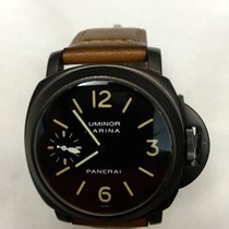 Panerai Rare Vintage PAM 4A T-Dial PVD Luminor 44mm Watch