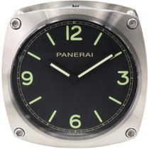 Panerai PAM 585 Wall Clock Stainless Steel Quartz 2017