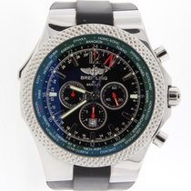Breitling Bentley Motors GMT V8 Limited Edition Chrono Steel...