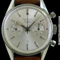 Heuer Carrera Leonidas Chronograph Stainless Steel