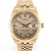 Rolex Datejust Vintage Gold 1601 Full Set
