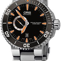 Oris Aquis Small Second 743.7673.4159.MB