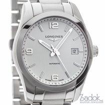 Longines Conquest Classic Watch 40mm White Dial Date Ref...