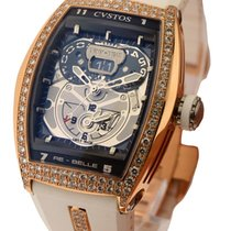 Cvstos Re Belle Twin Time in Rose Gold