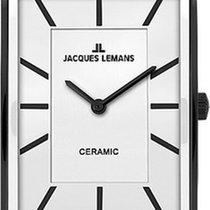 Jacques Lemans York 1-1594C Uhr Mit Keramikelementen