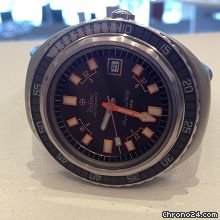 Zodiac vintage diver super sea wolf auto 75atm