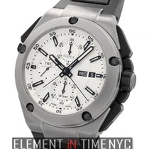 IWC Ingenieur Collection Double Chronograph Titanium Silver...