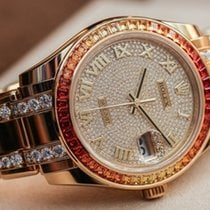 Rolex Pearlmaster 39 / fully diamonds