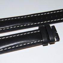 Breitling Kalbslederband für Dornschliesse Schwarz  22-20 mm