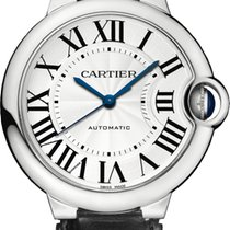 Cartier BALLON BLEU DE CARTIER WATCH  36 mm, Steel, Leather
