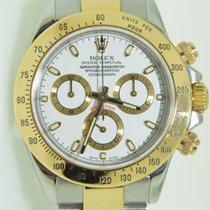 Rolex Daytona Cosmograph Steel/Gold,White dial,full set