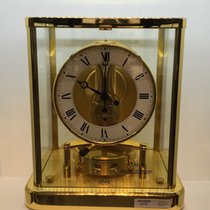 Jaeger-LeCoultre 18k Yellow Gold Filled Atmos Clock Serviced