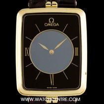 Omega 18k Y/Gold Ultra Thin La Magique Mystery Vintage Gents...