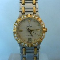 Concord saratoga gold and steel bezel with diamonds [On Hold]