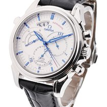 Omega De Ville Chronograph Co axial Rattrapante in Steel