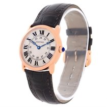 Cartier Ronde Louis 18k Rose Gold Ladies Watch W6800151