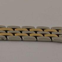 Breitling Reparatur Segment Stahl/gold Armband Pilot 18mm