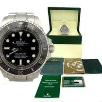 Rolex Mens Rolex Deepsea Sea-dweller Stainless Steel Black...