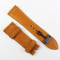 Panerai 26 / 22 mm brown leather strap
