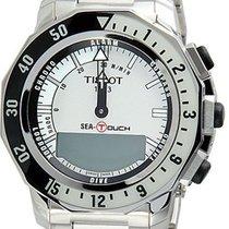 Tissot Men's T0264201103100 Seaquartz Chronograph Touch...