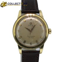 Omega Seamaster Solid 14k Yellow Gold Automatic 35mm Watch