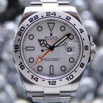Rolex [NEW] Explorer II 42mm 216570 White Dial (Retail:HK$60,500)