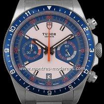 "Tudor Heritage Chrono Blue ""monte Carlo"" Réf.70330b"