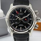 Ebel 1911 BTR GMT Black Dial SS / Leather