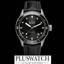 Blancpain Fifty Fathoms Bathyscaphe Black Dial 43mm G