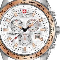 Swiss Military Hanowa 06-4225.04.001.09 Crusader Chrono 43mm...