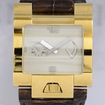 andere Marken Goldpfeil Chronometer Power Reserve 18K Gold Top...