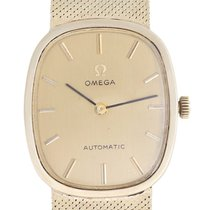Omega 14K Yellow Gold Automatic Dress Watch
