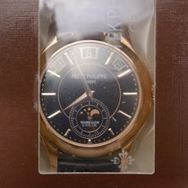 Patek Philippe New  Complications 18k Rose Gold Black Manual...