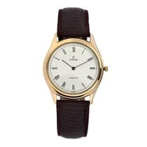 Concord San Remo Collection Nine/quartz Gold Plated Mens Dress...