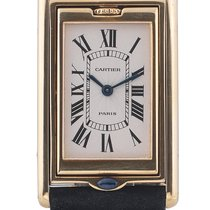 Cartier Tank Reversible Basculante Yellow Gold