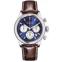Davosa Business Pilot Chronograph Stahl Automatik 42mm