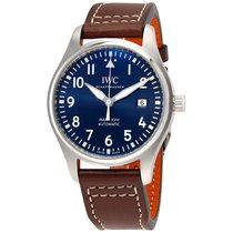 IWC Pilot Midnight Automatic Blue Dial Mens Watch IW327004