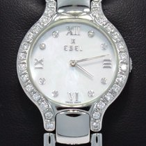 Ebel Beluga 27mm Factory Diamond Bezel & Mop Dial Lady&#39...