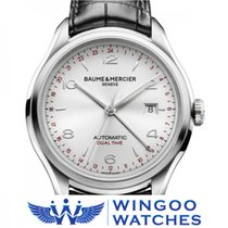 Baume & Mercier Clifton Dual Time Watch Ref. M0A10112