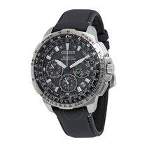 Citizen Promaster Navihawk Black Dial Men's Chronograph Watch