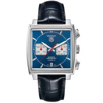 TAG Heuer Monaco  Blue Dial Men's WATCH CAW2111.FC6183