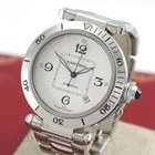 Cartier Pasha Ref 2378 Automatic Stainless Steel