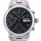 Montblanc Meisterstück Day Date Chronograph Stahl Automatik...