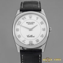 Rolex Cellini Danaos 18K White Gold Ref.4233/9 Full Set New...