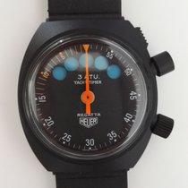 Heuer Regatta Yacht Timer Stopwatch Rare Lemania 6000
