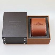 Breitling / Uhrenbox mit Umkarton / Leder